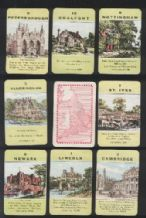 Collectible cards game Counties of England